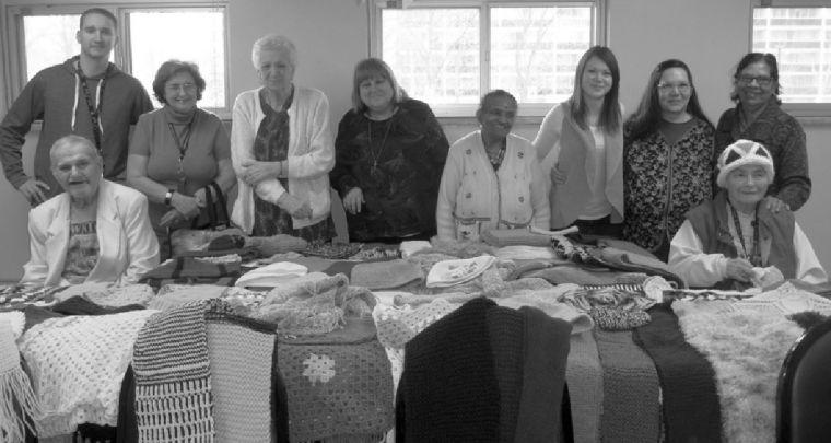 Knitting Group at 100 High Park