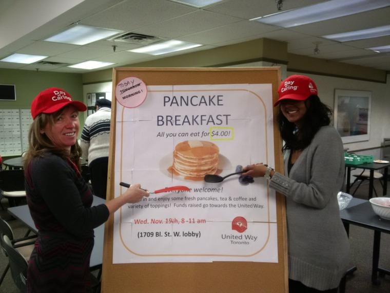 Pancake Fundraiser