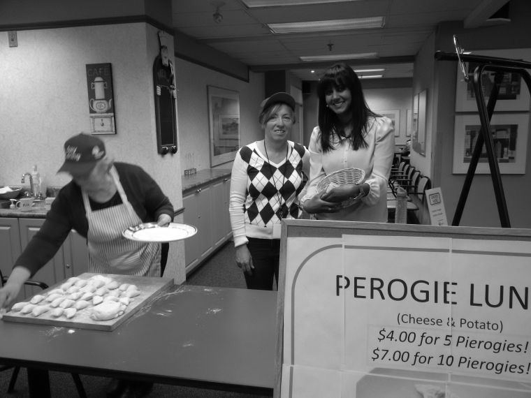 Perogie Lunch in January