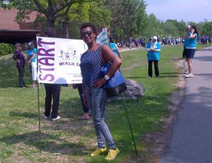 WALK for ALS - Nadia