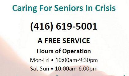 Seniors Crisis Line (SCAL)