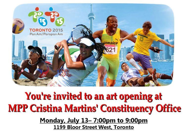 Cristina Martins - Art Opening