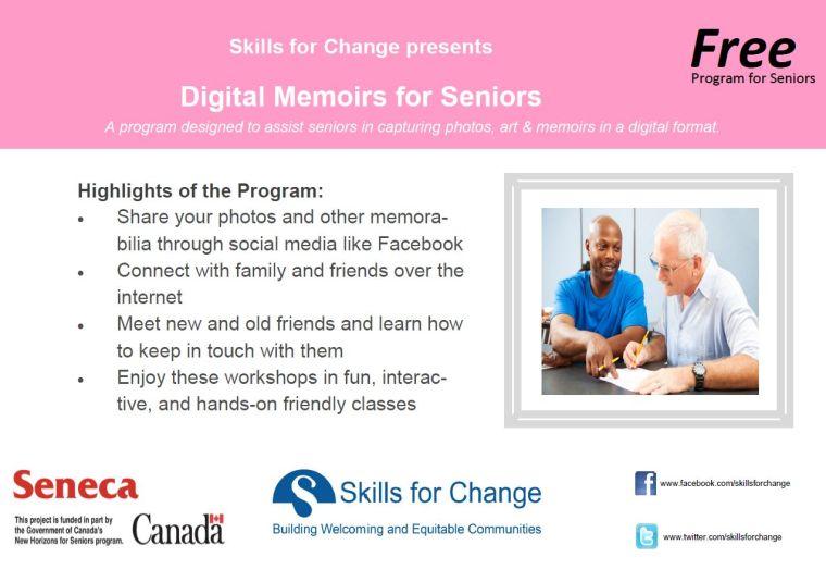 Digital Memories for Seniors