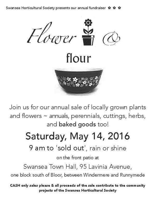 Flower & Flour Sale