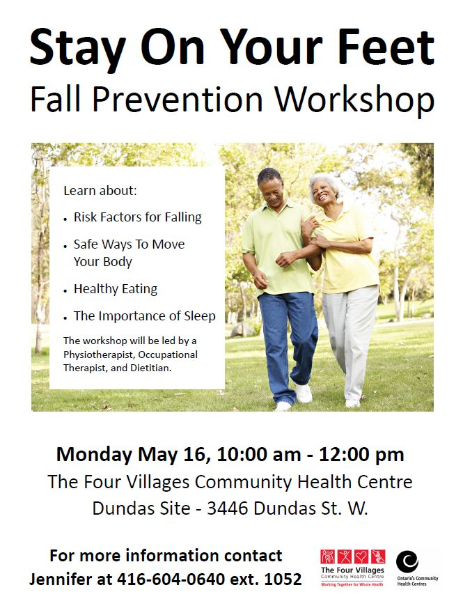 Falls Prevention Workshop