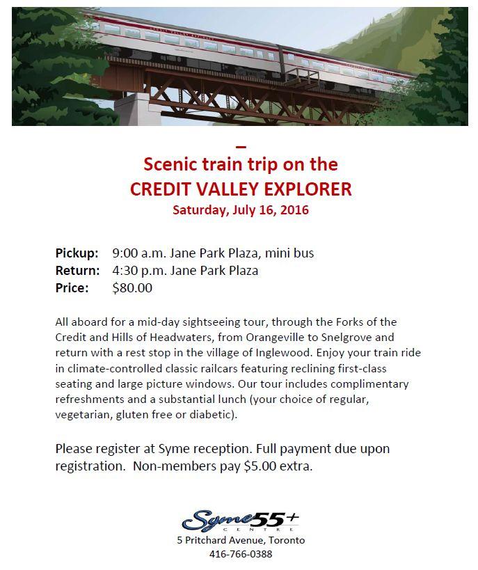 Credit Valley Trip