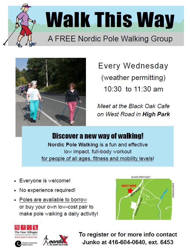 Nordic Walking in High Park