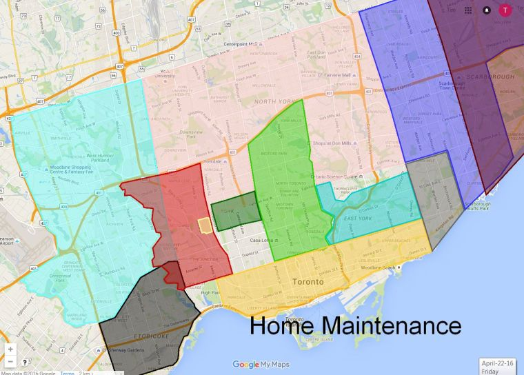 Home Maintenance Map