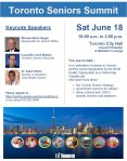 Toronto Seniors Summit