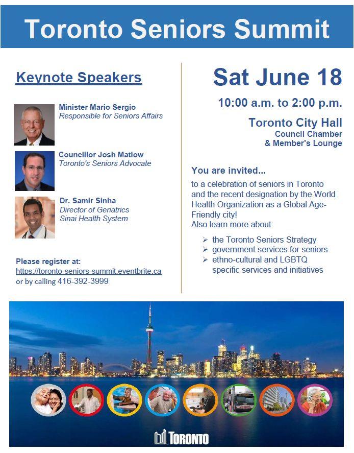 Toronto Seniors Summit