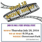 Movie NIght Dovercourt Park
