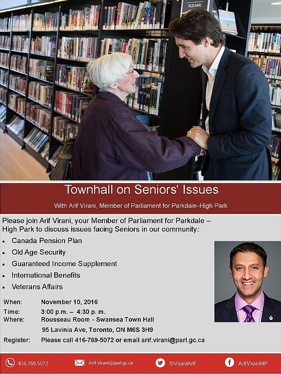 townhall on seniors issues