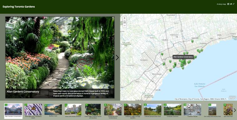 Exploring Toronto Gardens